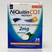 NiQuitin CQ 2 mg pastilky - 36 ks