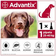 Advantix pro psy nad 25kg spot-on a.u.v.1x4ml
