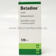 Betadine roztok - 120 ml