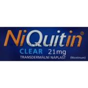 NiQuitin Clear 21 mg - 7 náplastí