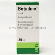 Betadine roztok - 30 ml