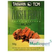 Ženšen Taiwan TCM mladý