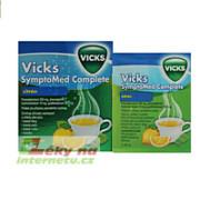 Vicks SymptoMed complete citrón horký nápoj