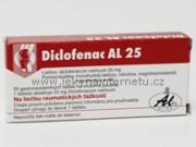 Diclofenac AL 25 - 20 tbl.