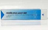 Ondřejova mast HBF - 100 g