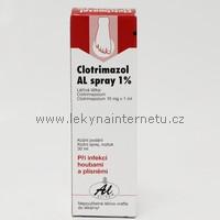 Clotrimazol AL 1% - sprej