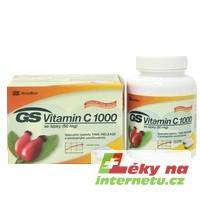 GS Vitamin C 1000 se šípky - 60 tbl.