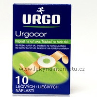 Urgocor náplast na kuří oka
