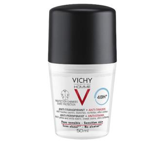 Vichy Homme Deodorant deodorant roll-on proti bílým a žlutým skvrná