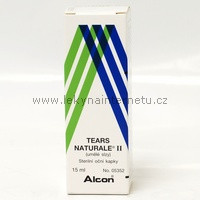 Tears Naturale II - oční kapky