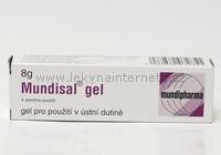 Mundisal gel - 8 g