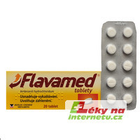 Flavamed tablety