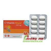 Moje Lékárna Vitamin C Retard 500 mg 40 tbl.