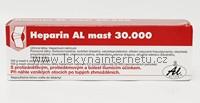 Heparin AL 30 000 - mast 100 g.