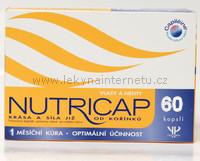 Nutricap vlasy a nehty - 60 kapslí