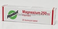 Magnesium 250 mg - 20 šumivých tablet (poslední balení)