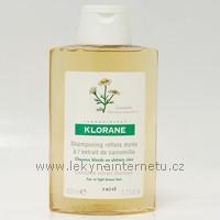 Klorane šampon s výtažkem z heřmánku