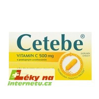 Cetebe vitamin C - 120 cps.