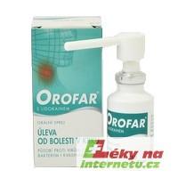 Orofar sprej - 30 ml