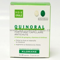 Klorane Quinoral - 60 tbl.