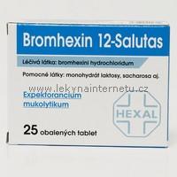 Bromhexin 12 Salutas - 25 tbl.
