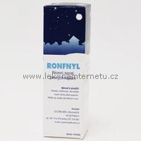 Ronfnyl - nosní sprej