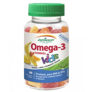 Jamieson Omega-3 Kids Gummies želatinové pastilky