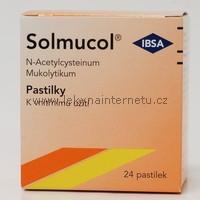 Solmucol - 24 pastilek