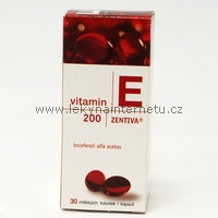 Vitamin E 200mg - 30 tbl.