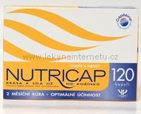 Nutricap vlasy a nehty - 120 kapslí
