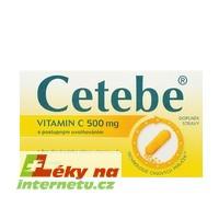 Cetebe vitamin C - 60 cps.