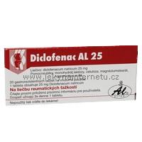 Diclofenac AL 25 - 50 tbl.