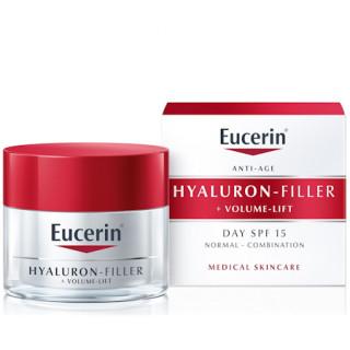 Eucerin Hyaluron-Filler + Volume-Lift Denní krém SPF 15 pro normální až smíšenou pleť