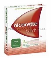 Nicorette Patch 7 x 10 mg / 16 h - náplast
