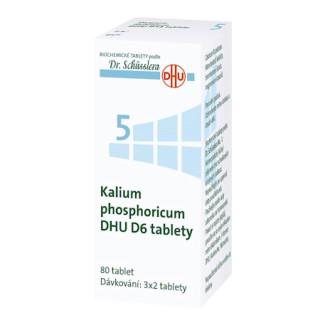 Schüsslerova sůl č. 5 - Schüsslerovy soli - Kalium phosphoricum