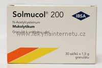 Solmucol 200 - 30 sáčků