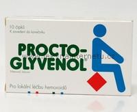 Procto-Glyvenol - 10 čípků