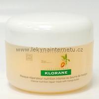 Klorane výživná obnovující maska s mangovým máslem - 150 ml