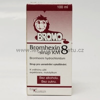 Bromhexin 8 - sirup KM  100 ml