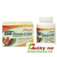 GS Vitamin C 500 se šípky - 120 tbl.