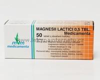 Magnesii Lactacii 0,5 Medicamenta - 50 tbl.