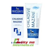 Priessnitz Chladivé mazání - 200 ml
