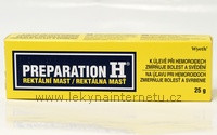 Preparation H - mast 25 g