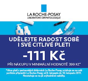 La Roche-Posay sleva 111 Kč